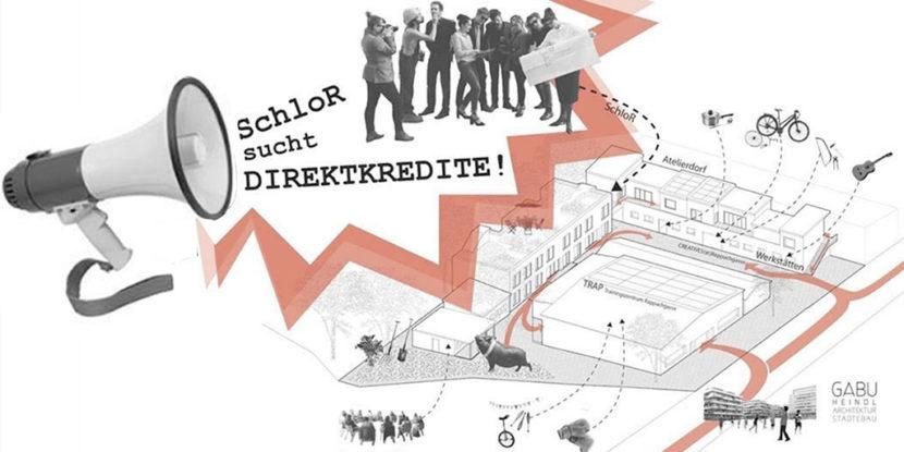 SchloR jetzt durch Direktkredit unterstützen!